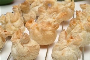 Boursin cheese puff