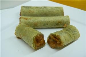 Chicken smoked burrito
