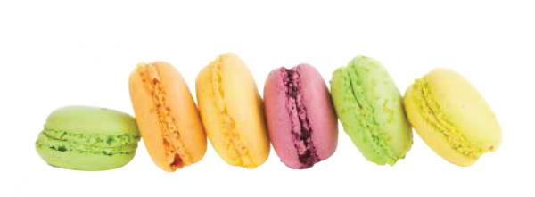 Parisian Macarons Assortment